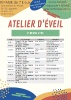 Planning AE avril 2021