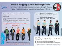 HOTLINE ENTREPRISES DE LA COMPAGNIE DE GENDARMERIE DE VITRÉ – #RÉPONDREPRÉSENT